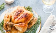 Как запечь курицу в рукаве