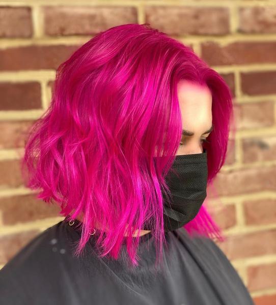 Фото №3 - Как красить волосы в розовый в 2021 году: 8 модных идей