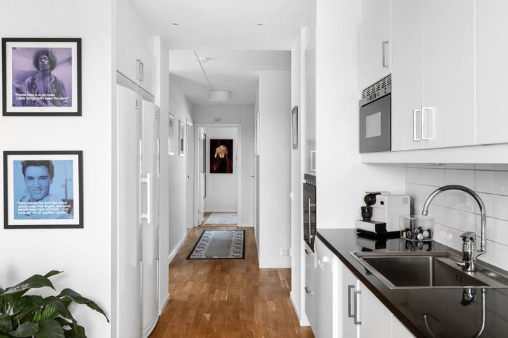 Фото №7 - Квартира 84 м² в светлых тонах в Стокгольме