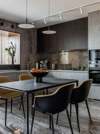 Фото №5 - Серый + горчица: уютная квартира 108 м² в Самаре