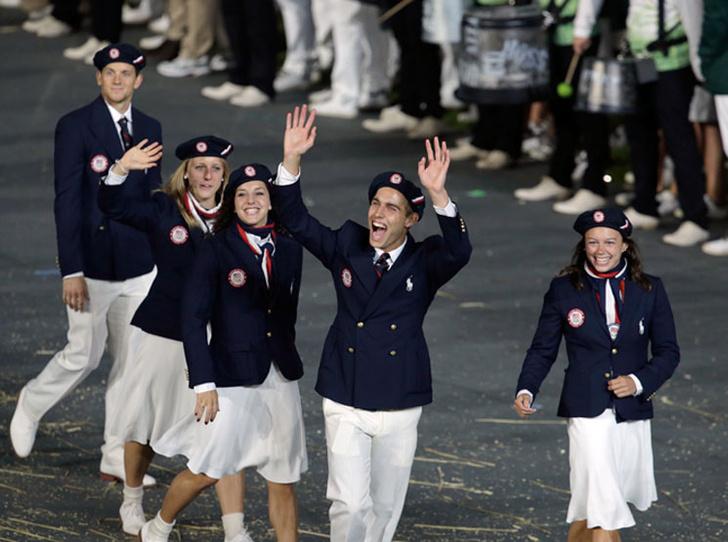 Фото №16 - 10 самых удачных примеров олимпийской формы из истории летних Олимпиад