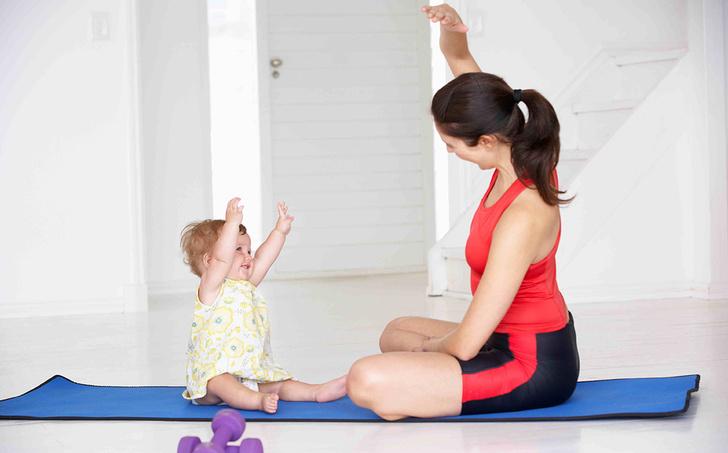 Фото №4 - Фитнес-мама с малышом: занимаемся спортом вместе