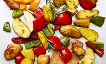 Картошка с перцем в духовке