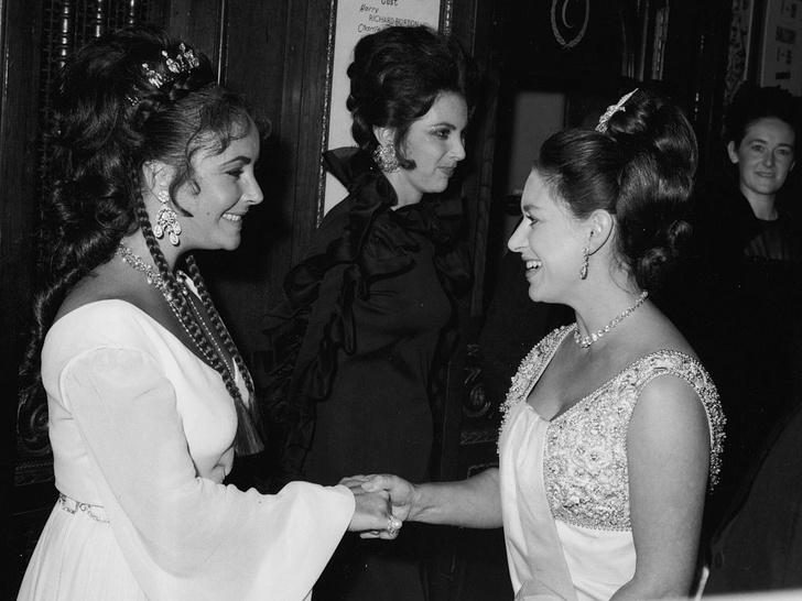Фото №5 - Ревность и гнев: что не поделили принцесса Маргарет и Элизабет Тейлор (все весьма прозаично)