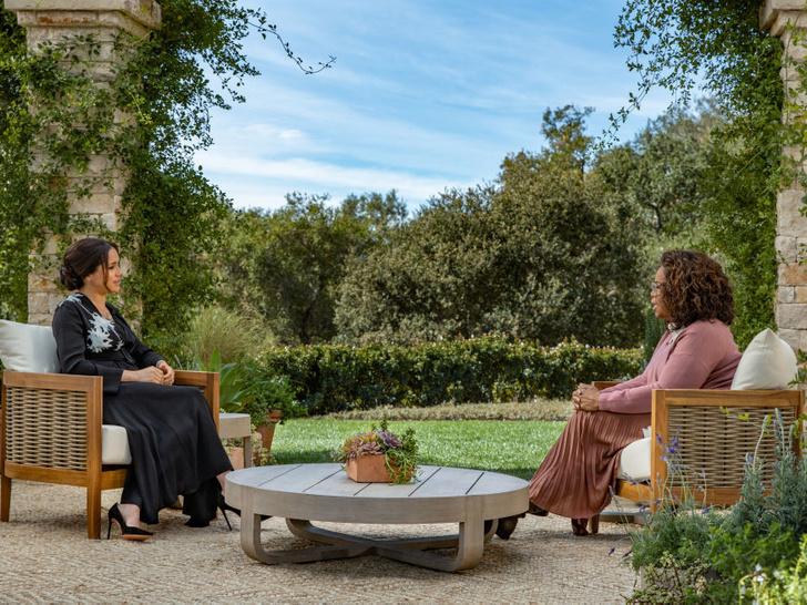 Фото №2 - Сколько стоило интервью Опры с Гарри и Меган (и сколько заплатили Сассекским)