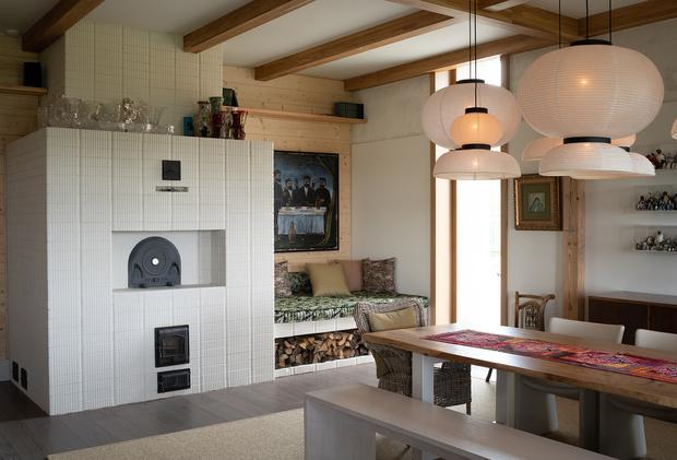 Фото №11 - Современная дача в деревянном доме в Суздале
