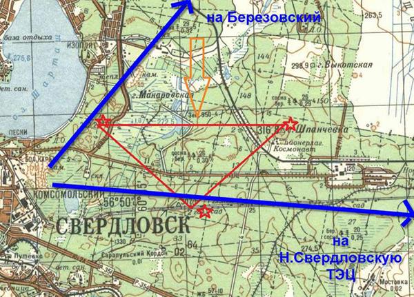 Свердловский треугольник