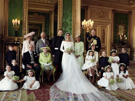 Фото №1 - Свадьба Меган и Гарри: угадайте, что было на самом деле, а что— выдумка?