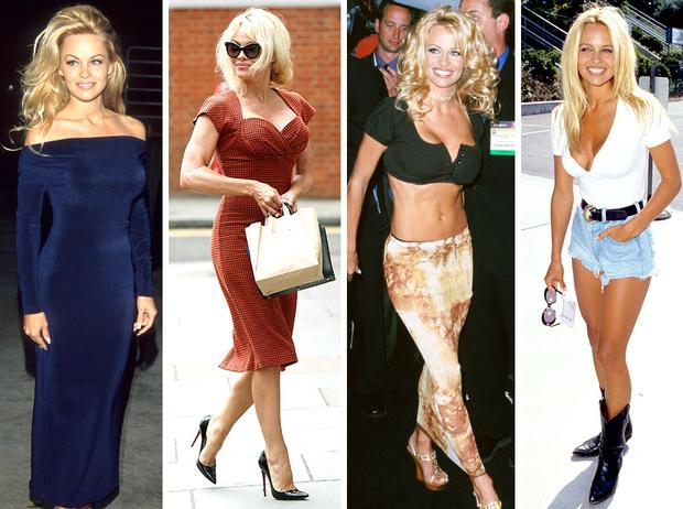Фото №1 - Скандальная, модная, смелая: правила стиля Памелы Андерсон