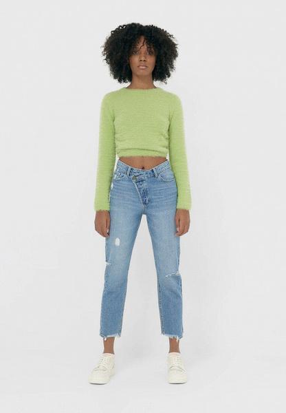 Фото №5 - Где купить джинсы с кривой застежкой— самый новый и самый жаркий тренд 2021-го года