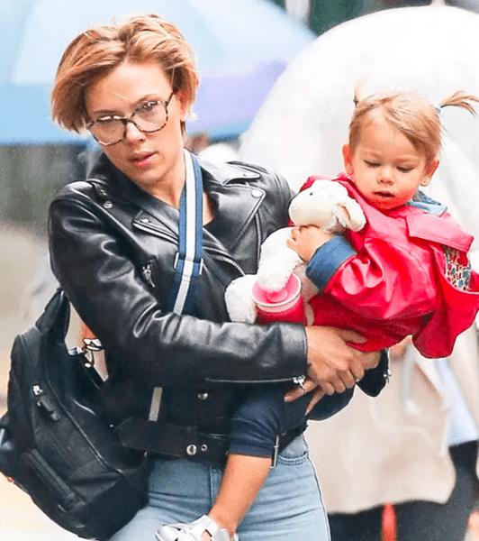 Скарлетт Йоханссон с дочкой