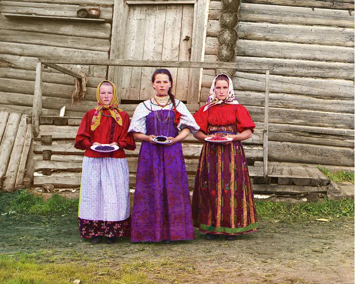 Фото №1 - О Русь! 12 цветных фотографий царской России