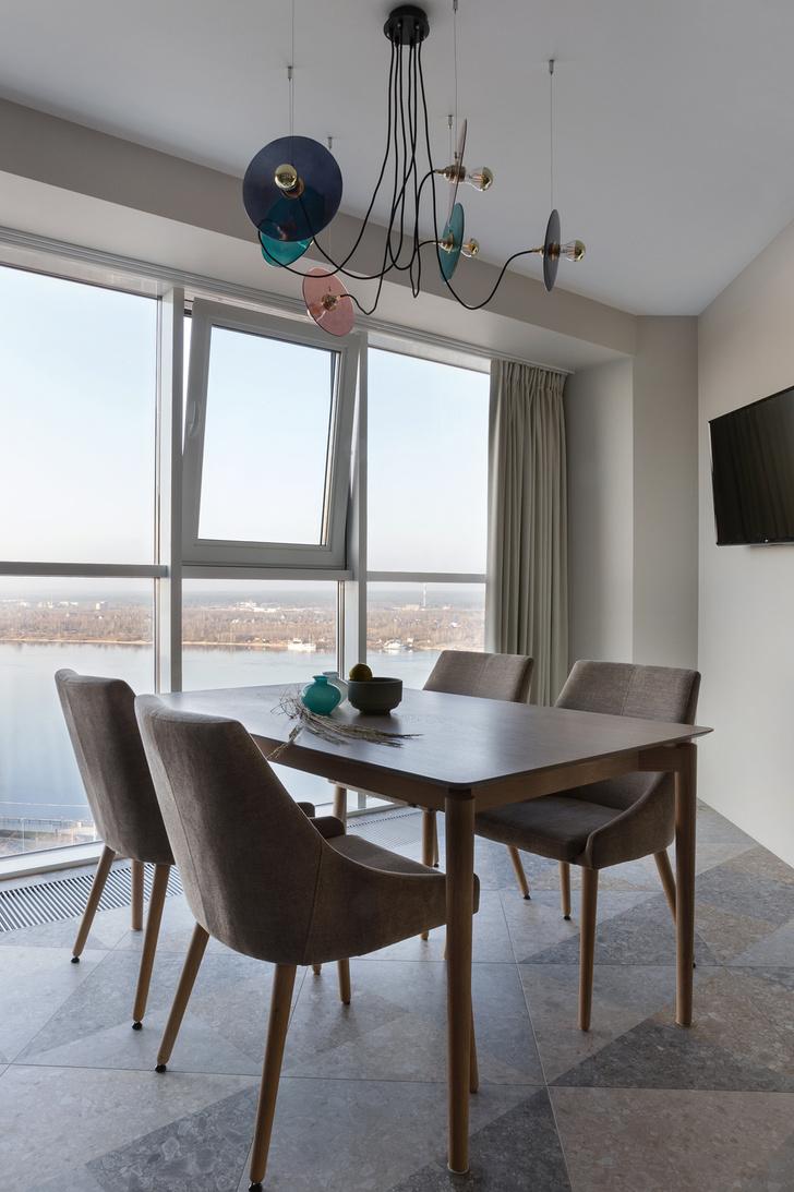 Фото №8 - Квартира в Перми 120 м² с панорамным видом на Каму