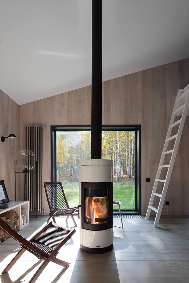 Фото №8 - Современная архитектура: деревянный дом 134 м² в Сибири