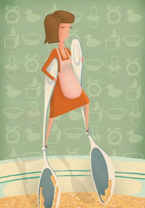 Фото №4 - За маму, за папу: как накормить ребенка