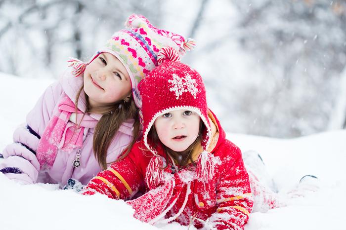 активные игры зимой с детьми
