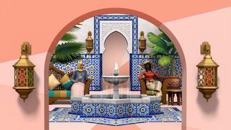 Фото №2 - Любуемся скринами свежего каталога «Личный оазис» для The Sims 4 ⛲