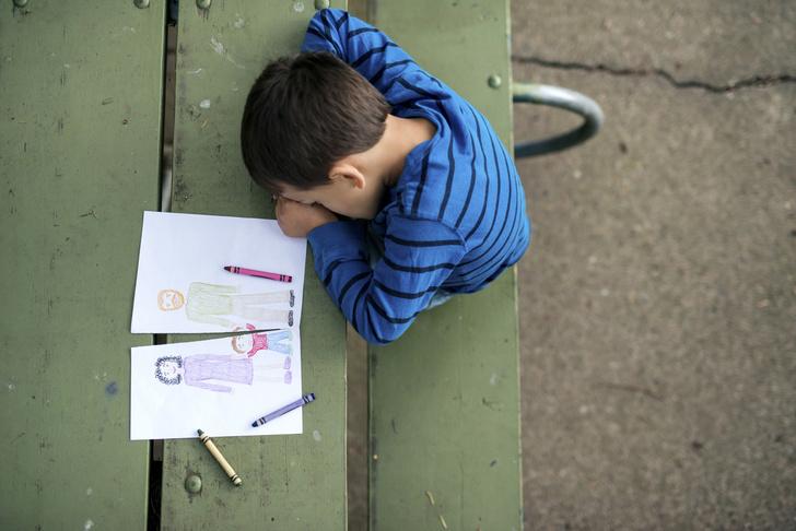 Фото №5 - «После развода ребенок начал рисовать странные картинки»