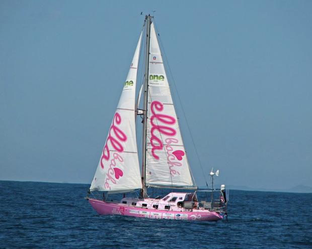 Фото №2 - 16-летняя яхтсменка обогнула земной шар