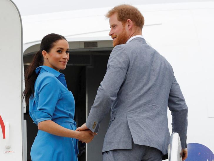 Фото №2 - С какой знаменитостью британцы сравнивают Меган (и почему ей вряд ли это понравится)