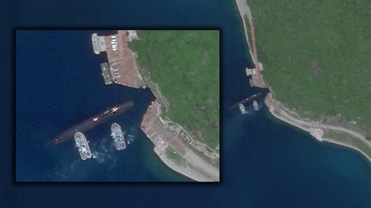 Фото №4 - Юйлинь: база атомных подлодок, которая была рассекречена благодаря случайному снимку со спутника