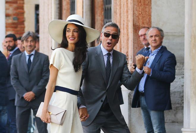 Джордж Клуни и Амаль Аламуддин, фото