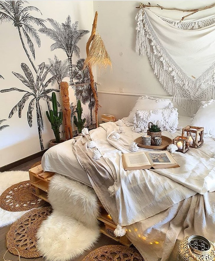 Фото №10 - Спальня в стиле бохо: идеи оформления