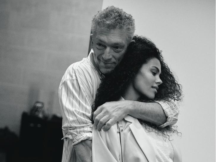 Фото №1 - Венсан Кассель и Тина Кунаки: «Любовь— это вся наша жизнь»