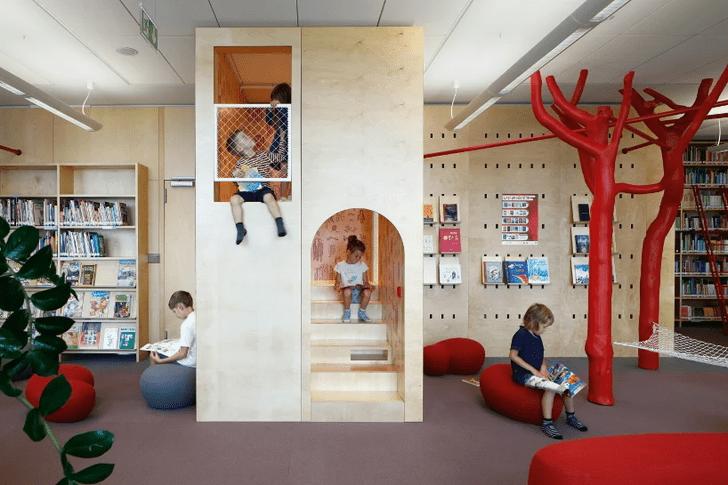 Фото №5 - Яркая библиотека для детей в Риге