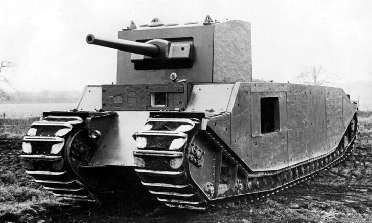Фото №6 - Стальная жуть: самые уродливые танки Второй мировой