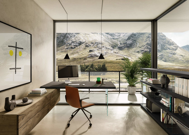 Фото №13 - Дом с современным интерьером в горах Шотландии