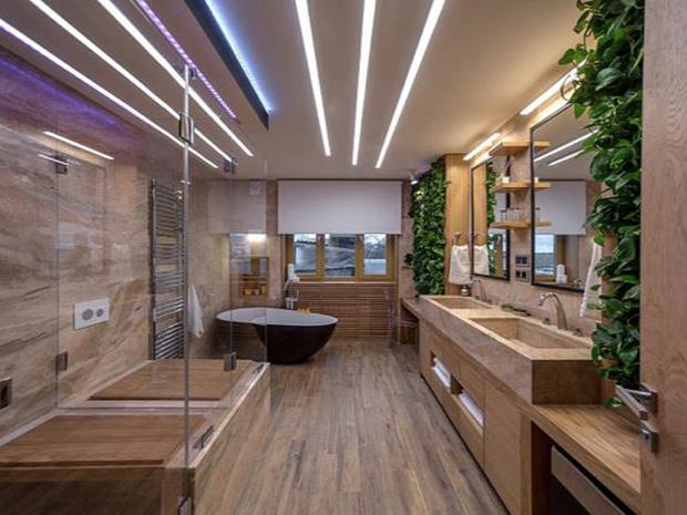 Фото №4 - От золота до дерева: 4 оригинальных идеи дизайна ванной комнаты