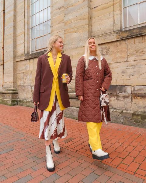 Фото №5 - Как носить color blocking зимой 2021: вдохновляемся луками fashion-инфлюенсеров