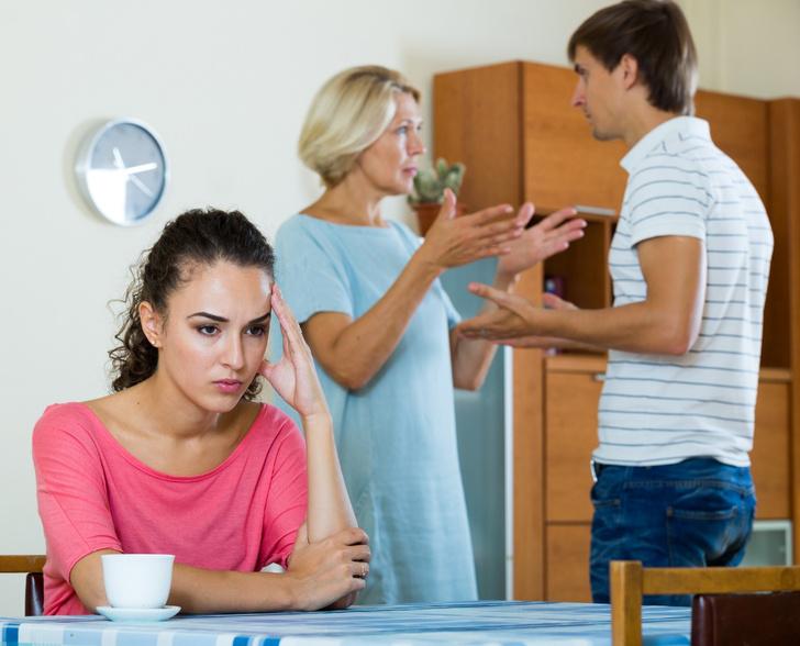 Муж поругался с моей мамой что делать