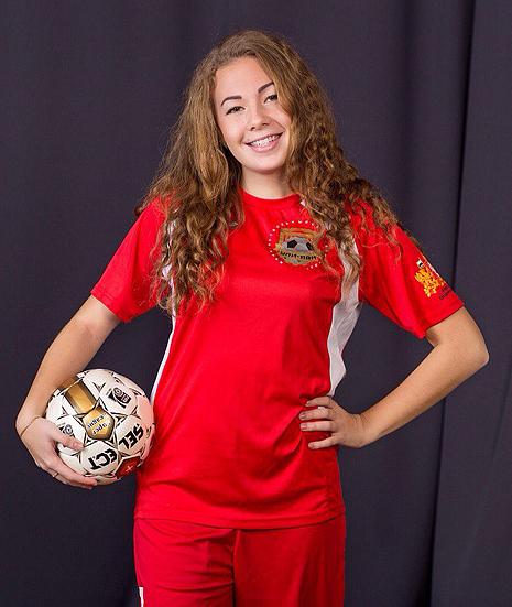 Лена Иванова, футболистка, фото