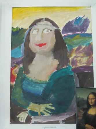 как выглядят шедевры мировой живописи глазами современных детей