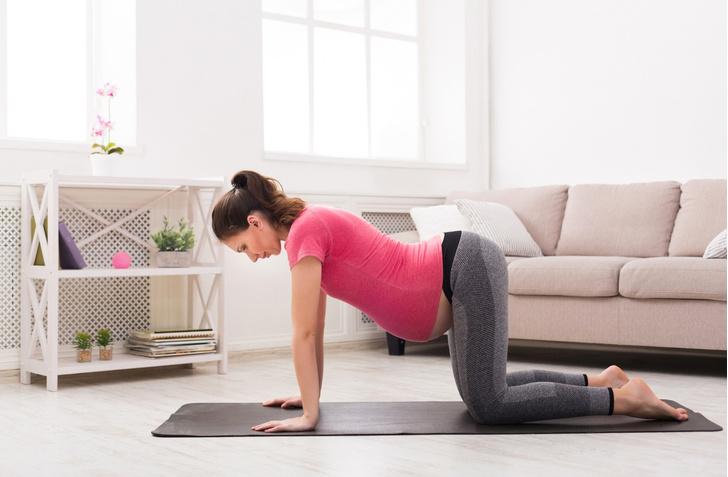 Фото №5 - Йога для беременных: позы, которые помогут облегчить роды