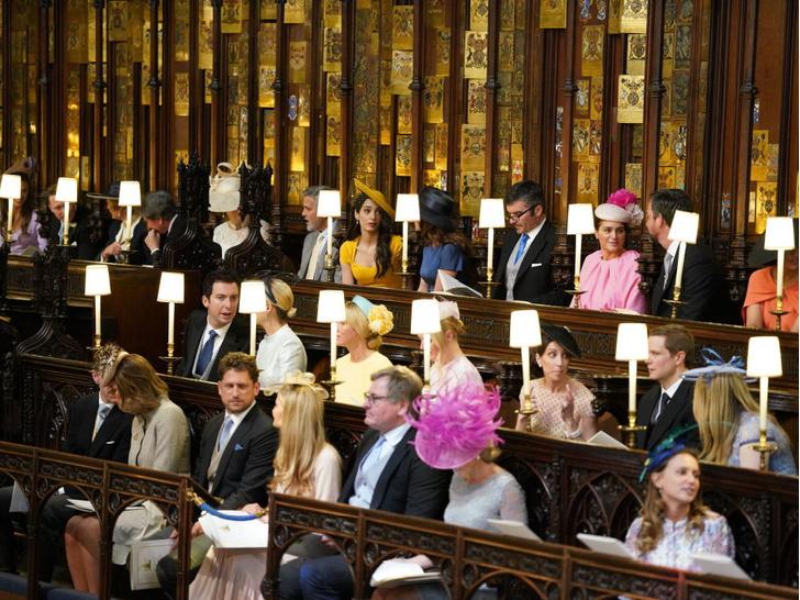 Фото №4 - Самое строгое правило, которое пришлось соблюдать всем гостям свадьбы Гарри и Меган