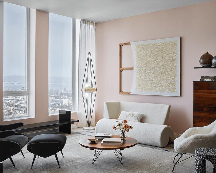 Фото №1 - Галерея коллекционного дизайна в апартаментах в Сан-Франциско