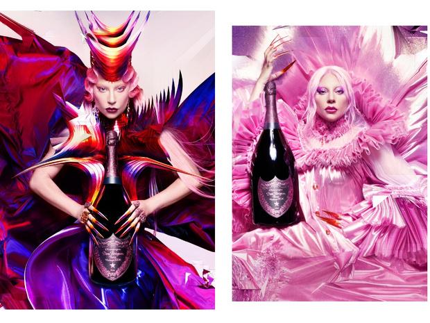 Фото №2 - Леди Гага создала скульптуру в рамках коллаборации с Dom Pérignon