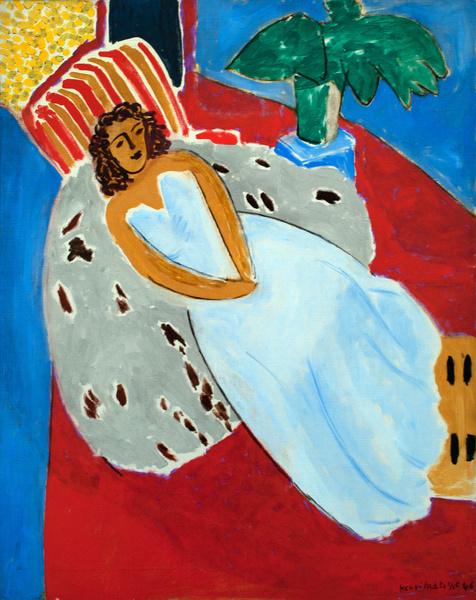 Картина Анри Матисса «Одалиска»