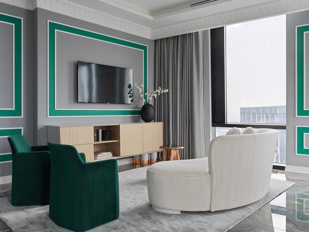 Фото №2 - Светлая квартира в классическом стиле в Москве