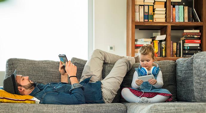 Отцовство эпохи hi-tech