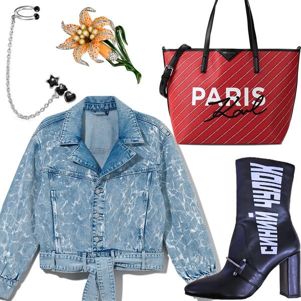 Фото №1 - 9 модных вещей, без которых не обойтись: ботильоны Tervolina, сумка Karl Lagerfeld, кафф Tous