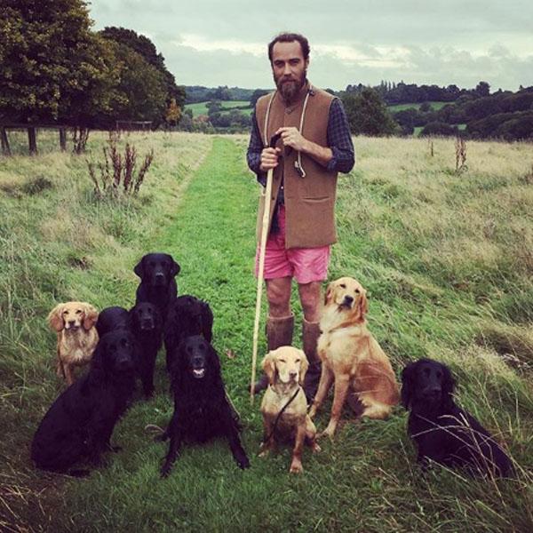 Фото №1 - Брат Кейт Миддлтон переехал в глушь, чтобы разводить собак