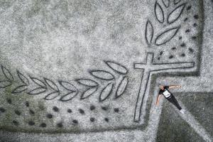 Фото №3 - Lavazza совместно с художником Сайпе создали арт-объект в парке в Турине