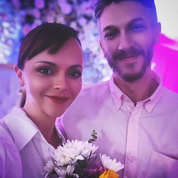 Кристина Риччи и Марк Хэмптон