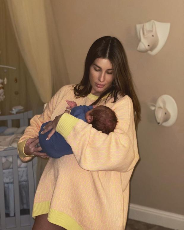 Кети Топурия родила сына