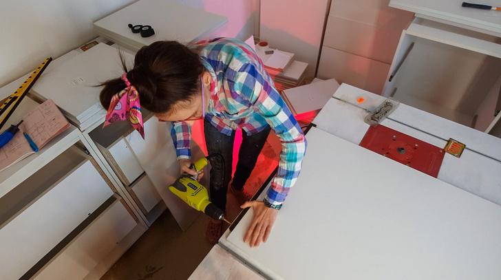 Фото №9 - «Делать мебель своими руками— это не какая-то сверхспособность»: как живет женщина-столяр в Подмосковье