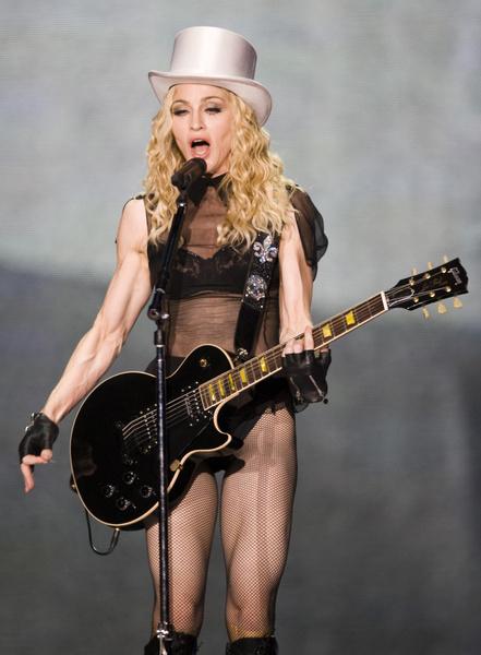 Фото №4 - «Лисьи глазки» и диета «Инь и Ян»: как Мадонна увлеклась пластикой и стала выглядеть героиней аниме